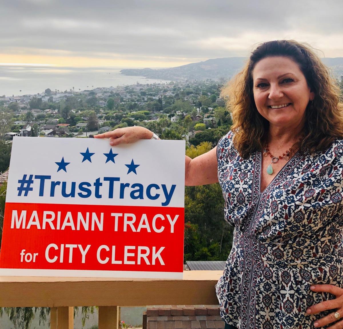 Mariann Tracy for City Clerk