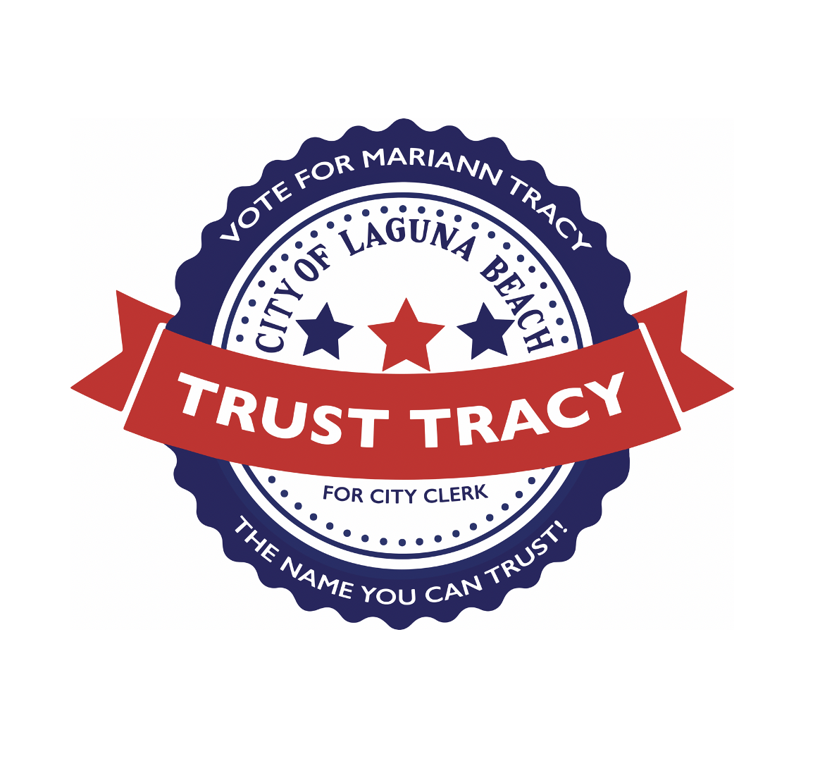 Trust Tracy for City Clerk